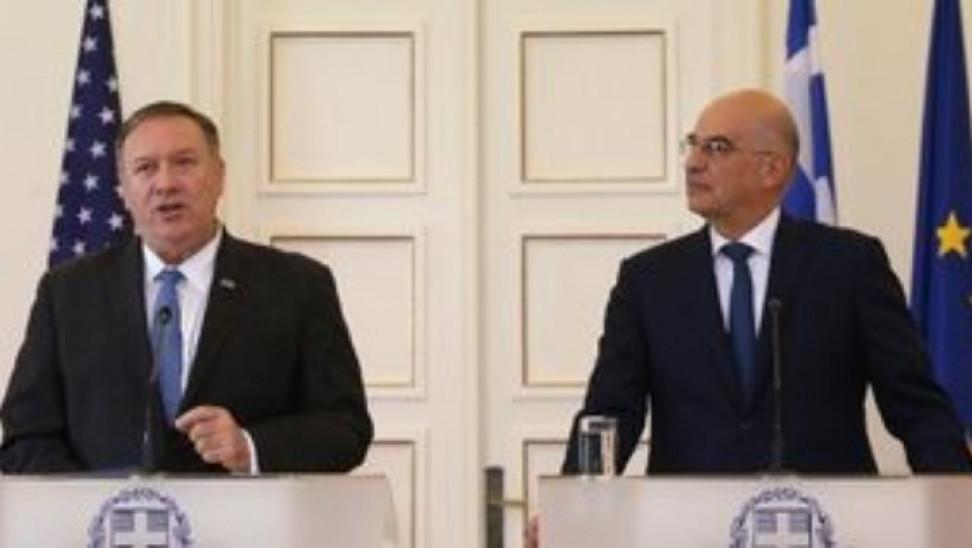 Πομπέο Δένδια: Η Ελλάδα πυλώνας σταθερότητας - Αποδοκιμάζουμε τουρκικές ενέργειες